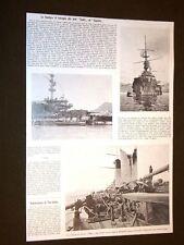 Livorno 1905 Consegna bandiere battaglia Regie Navi Agordat e Coatit + Orel