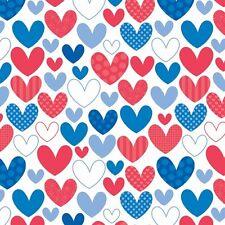 Star Spangled Multi Hearts by Doodlebug Designs for Riley Blake, 1/2 yard fabric