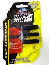 Tsunami Braid Ready Spool Band for Spinning Reel Sizes 2000 to 8000 - 3 in Pack
