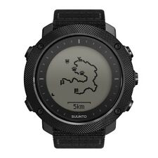 Suunto Traverse Alpha Stealth Mens GPS Outdoor Fish & Hunting Wrist Watch Black