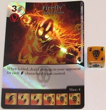 Foil FIREFLY: TED CARSON 14/124 Batman Dice Masters DC