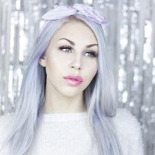 Pastel Lilac Crushed Velvet Wire Headband