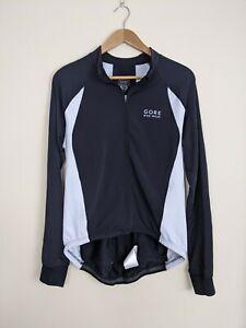 Gore Bike Wear XL Stretch Jersey Top Mens Black & White