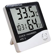 Digital Large LCD Display Temperature Humidity Thermometer Home Comfort Monitor
