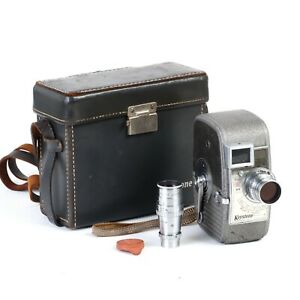 • Keystone 25 Capri 8mm Movie Camera w/ 2 Keystone Elegeet Cine Lenses