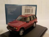 Range Rover P38, Red, Model Cars, Oxford Diecast