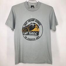 Vintage Screen Stars Mens Medium Shirt Clinchfield Route Railroad Appalachia Usa
