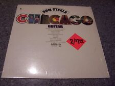 "Ron Steele ""Chicago Guitar"" OVATION LP OV/14-08 W/SHRINK & HYPE STICKER NM"