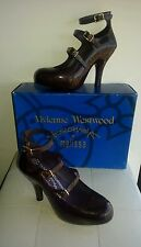 Vivienne Westwood Anglomania Melissa Shoes 30527 Purp/Gold Rrp $360