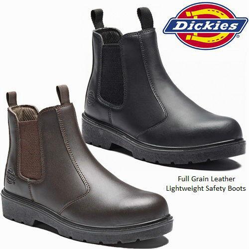 DICKIES - Negro WORK Botas -   - 4  (G3115) e1c1f9