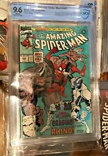 Amazing Spiderman #344 CBCS 9.6 ( CGC 9.6 ) 🔥 1ST FIRST CLETUS KASADY CARNAGE !