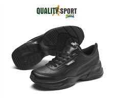 Puma Cilia Mode Nero Pelle Scarpe Donna Shoes Sportive Sneakers 371125 01 2020