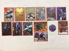 11 FIGURINE ADESIVE SPIDER-SENSE SPIDER-MAN  PANINI MARVEL lot 63