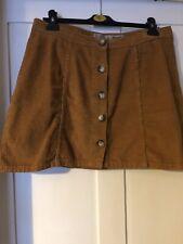 Primark Atmosphere Skirt Size 14 Button Down Courdoroy Style