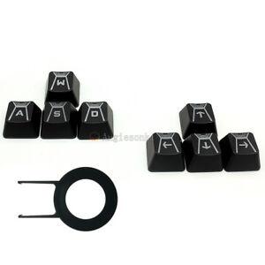 W A S D & direction arrow key caps for Logitech G910 Romer-G Mechanical Keyboard