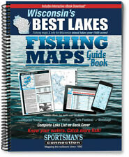 Wisconsin's Best Lakes Fishing Maps Guide Book   Sportsman's Connection
