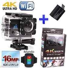 Vídeo Cámara Accion deportes SJ4000 / Sj7000 sumergible ultra 4k 16mpx con mando