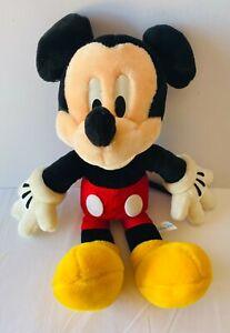 MICKEY MOUSE Walt Disney Plush Soft Stuffed Toy Doll Tokyo 80s Cartoon 40cm