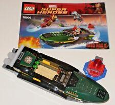 Lego Super Heroes Iron Man planeadora & boya de Extremis Mar Puerto batalla 76006