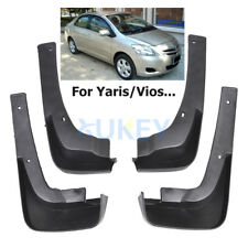 FIT FOR TOYOTA YARIS 4-Dr SEDAN 2006~2012 MUD FLAP FLAPS SPLASH GUARDS MUDGUARD