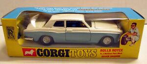Corgi Toys 273 Rolls Royce Silver Shadow,     original