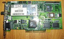 ATI AMC 3D Rage Pro Turbo AGP VGA VIDEO Graphics TV VIVO Card 109-44600-30