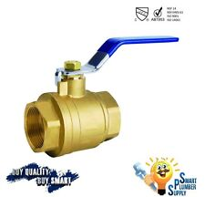 Female Threaded Shut Off Ball Valve 3/4 inch full port (000-3/4) - Lead Free