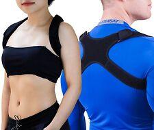 GAVIMAX Premium Unisex Upper Back Posture Corrector, Clavicle Support Brace, M/F