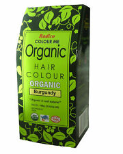 Radico Organic Hair Colour - Burgundy 100g