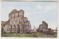 Shropshire postcard - Much Wenlock Abbey