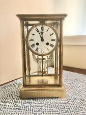 Antique Crystal Regulator Mantle clock