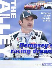 2014 IMSA TUSC The Alley VIR magazine Patrick Dempsey