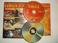 Once Upon a Time in China 1, 2, & 3 (DVD, 2003, 2-Disc Set) Jet Li, Martial Arts