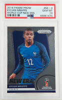 2018 Panini Prizm Kylian Mbappe World Cup New Era France Rookie RC #NE-9 PSA 10
