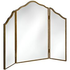 Venetian Mirrored Range 3 Way Dressing Table Mirror Brown