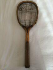 Vintage/ Antique Wooden Tennis Racket