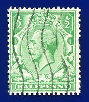 1924 SG418 ½d Green N33(1) Good Used aoly
