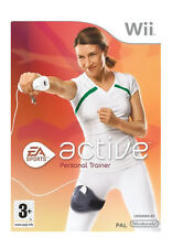 EA Sports Active: Personal Trainer (Nintendo Wii, 2009) - European Version
