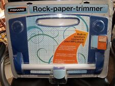 Fiskars Rock Paper Trimmer Paper-Slicing Speaker Dock NEW LAST ONE