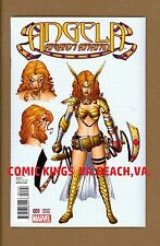 ANGELA ASGARD'S ASSASSIN #1 QUESADA 1:100 VARIANT NM/M UNCIRCULATED COMIC KINGS