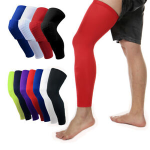 Basketball Knee Pads Brace Football Support Leg Compression Sleeve Support Sport