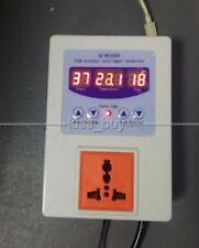 AC 110V 220V Digital temperature controller thermostat Aquarium +sensor / socket