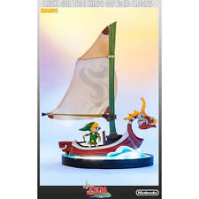 Link On The King Of Red Lions Figure Legend Of Zelda Wind Waker Limited Edition