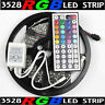 16.4ft RGB 3528 SMD 300 LED Rope Tape Lights Waterproof IP65 DC12V+44 Key Remote