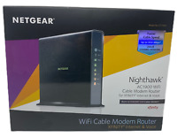 New NETGEAR Nighthawk AC1900 (24x8) DOCSIS 3.0 WiFi Cable Modem Router Combo
