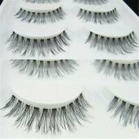 False Eyelashes Short Natural Volume DEMI WISPIES Popular Eye Lashes 5 Pairs UK