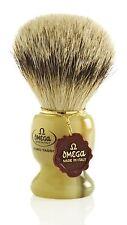 Omega 621 1st Grade Super Badger Hair Shaving Brush