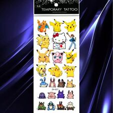 Pokemon Tattoo Sheet X 1