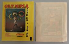 PANINI OLYMPIA 1896 - 1972 1x TÜTE TYP PROMO PACKET BUSTINE PACK POCHETTE SOBRE