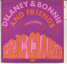 DELANEY & BONNIE AND FRIENDS + ERIC CLAPTON Comin home FRENCH SINGLE ATLANTIC
